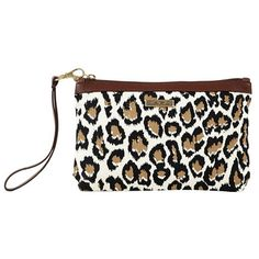 Add a chic fashion to your outfit while keeping personal items like your cell phone, pens, or lip gloss within easy reach with our Sahara Canvas Wristlet Pouch.  https://www.uptowncasual.com/products/sahara-canvas-wristlet-pouch #trendyhandbags #uptownhandbags