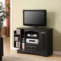 Tv stands on pinterest tv stands tall tv stands and corner tv stands for Tall bedroom tv stand