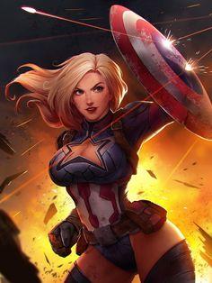 Captain America #comicart