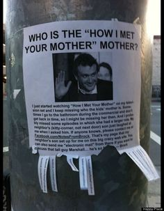 """How I Met Your Mother"" Flyer"
