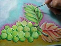 Como Pintar Uvas - YouTube