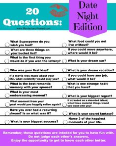 >>>Cheap Sale OFF! >>>Visit>> Bring back the fun in your date nights and get to know each other all over again with this free printable of 20 Questions; Date Night Edition. Your next date night will be a huge success with these fun conversation starters. Marriage Relationship, Happy Marriage, Marriage Advice, Love And Marriage, Marriage Romance, Strong Marriage, Marriage Games, Marriage Retreats, Quotes Marriage