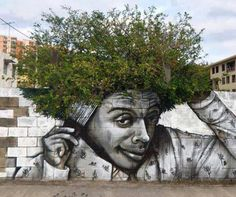 When street art meets nature