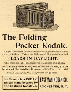 old kodak ads - Google Search