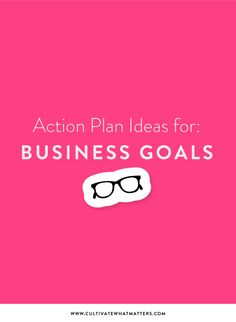 Inspiration for your 2018 Business Goals!