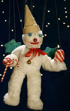 Mr. Bingle - the first sign of the Christmas season in New Orleans