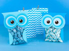 Blue Hoot Owl Birthday Party Package, DIY party printables decoration, editable name & age, simply type in the name, print & cut by Owlie Powlie Sunflower Birthday Parties, Owl Birthday Parties, Print And Cut, Diy Party, Party Printables, Baby Animals, Birthday Candles, Birthdays, Baby Shower