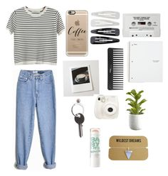 """Untitled #225"" by shaycorreia ❤ liked on Polyvore featuring Chicnova Fashion, Casetify, Polaroid, Maison Margiela, Forever 21, Sephora Collection, Fuji and Crate and Barrel"