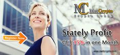 Stately Profit And Get 15% in One Month.