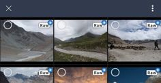 You can now import any RAW file onto your Android phone with Lightroom