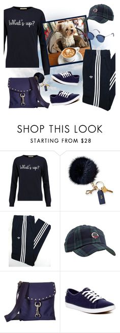 """""""The Weekend with My Bestie!"""" by krusie ❤ liked on Polyvore featuring Chinti and Parker, Mark & Graham, adidas Originals, Rebecca Minkoff, Keds and POLICE"""