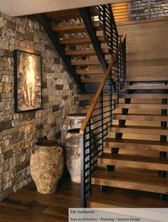 Art under the stairs