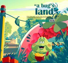 Disney California Adventure: Bug's Land.
