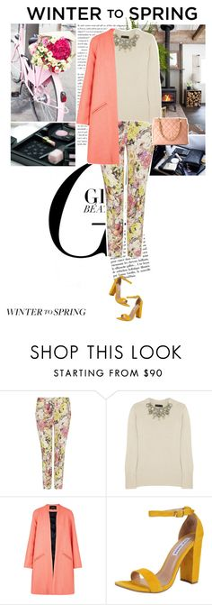 """Winter to Spring"" by cocochanel10 ❤ liked on Polyvore featuring мода, Etro, Burberry, Paper London, Steve Madden, polyvorecontest и Wintertospring"