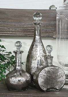 Mirrorred Decanters