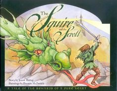 The Squire and the Scroll by Jennie Bishop, http://www.amazon.com/dp/1593170793/ref=cm_sw_r_pi_dp_eZZzrb0SZQC40