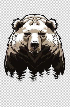 Tribal Bear Tattoo, Bear Tattoos, Angry Bear, Bear Vector, Fire Tattoo, Diy Resin Art, Bear Pictures, Lighted Canvas, Bear Art