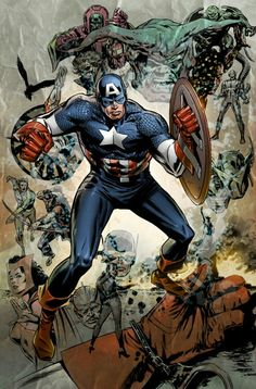 Captain America by Butch Guice