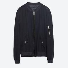 Luxe Bomber Jackets At Zara