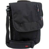 STM   Vertical Medium Laptop Shoulder Bag (Black)