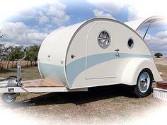 Vintage style caravan
