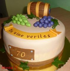 50th Birthday, Birthday Cakes, Birthday Parties, Cakes For Men, Cake Ideas, Cake Decorating, Party, Desserts, Food