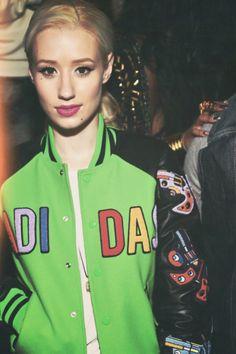 90s Hip Hop Style. Hip Hop Fashion. Adidas Bomber Jacket. Adidas Jeremy Scott. Iggy Azalea Style Hip Hop Fashion, 90s Fashion, Dope Fashion, Fashion Outfits, The New Classic, Valley Girls, 90s Hip Hop, American Rappers, Iggy Azalea
