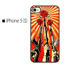 Shepard Fairey Guns And Roses Iphone 5 Iphone 5S Iphone SE Case