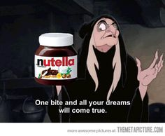 One SPOON-FULL and all your dreams will come true.