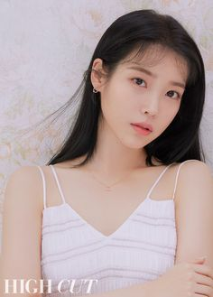 IU graces the cover of 'HIGH CUT' magazine. The singer-actress goes for a light pink concept that truly compliments her porcelain skin and beauty. Korean Girl, Asian Girl, Iu Fashion, Korean Actresses, Korean Actors, Korean Celebrities, Celebs, High Cut, Korean Beauty
