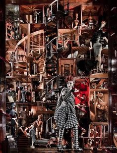 Bergdorf Goodman Window Display #www.instorevoyage.com #in-store marketing #visual merchandising