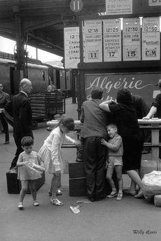 Willy Ronis,Gare de Lyon, Paris 1965