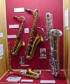 saxophones My daughter wants all of these.