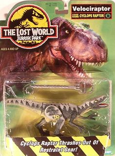 THE LOST WORLD RAPTORS TOYS | Jurassic Park the Lost World - Velociraptor Cyclops Raptor (MOC)