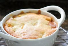 Roasted Peach Cobbler | Recipe | Bubble Up, Peaches and Peach Cobblers