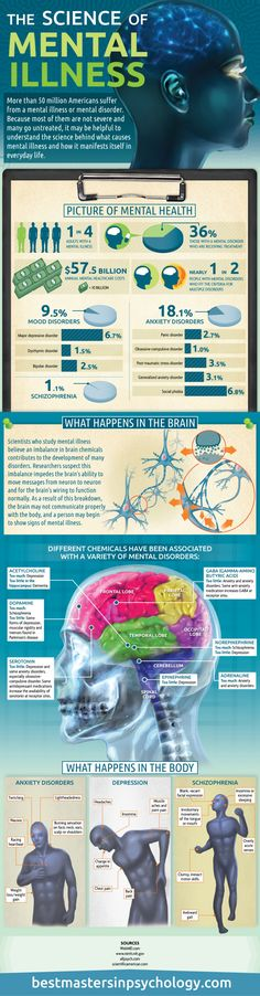 The Science of Mental Illness Infographic