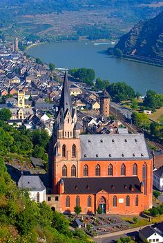 The Rhine River, Germany.