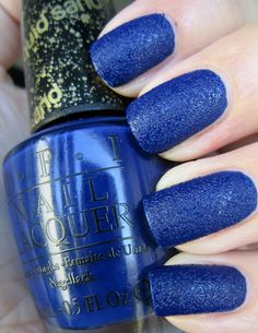 OPI Wharf! Wharf! Wharf! I want it! I absolutely love the Liquid Sand