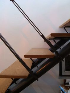 Formworks Architects, Barrie Ontario. Stair detail.