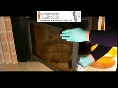 Pulizia vetro caminetto - Canna Fumaria Sicura
