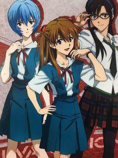 Neon Genesis Evangelion, Hideaki Anno, Asuka Langley, Rei Ayanami, Mecha Anime, Jojo Memes, Fan Art, Cosplay, Cartoon