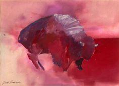 Red Buffalo by Bert Seabourn
