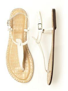 T-Strap Sandal http://www.dessy.com/accessories/t-strap-sandal/#.UlbMX1CTgSM