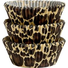 These paper Wilton Leopard Print Baking Cups feature fun leopard spots. Everybody will spot the cupcakes on the snack table at your jungle-themed party when you decorate them with these Wilton Leopard Print Baking Cups! Leopard Birthday Parties, Cheetah Birthday, Wild One Birthday Party, First Birthday Parties, 40th Birthday, Cheetah Print Cupcakes, Cheetah Print Party, Leopard Party, Cupcake In A Cup