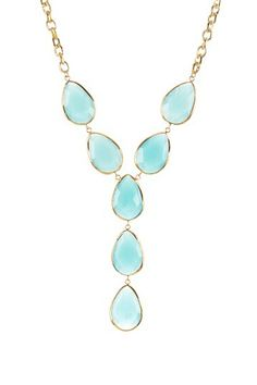 Grand Bazaar Stone Station Necklace by Non Specific on @HauteLook
