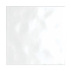 Simple Bumpy White Gloss Tile 198mm x 198mm - Box of 25