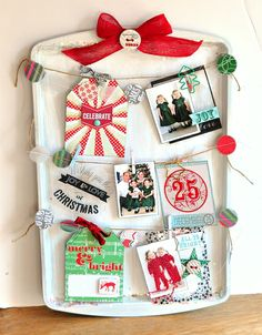 Celebrate Christmas tray ~Webster's Pages~ by cornellgj - Two Peas in a Bucket