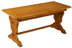 Vintage 1950 French Coffee Table, Spanish Renaissance Style, Carved Oak