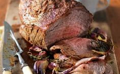 Best-Ever Roast Beef with a Mustard Crust Recipe
