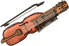 """NYCKELHARPA  A nyckelharpa (""""keyed fiddle"""", or literally """"key harp"""", plural nyckelharpor) is a traditional Swedish musical instrument. It is a string instrument or chordophone. Its keys are attached to tangents which, when a key is depressed, serve as frets to change the pitch of the string.  The nyckelharpa is similar in appearance to a fiddle or the big Sorb geige or viol. Structurally, it is more closely related to the hurdy gurdy, both employing key-actuated tangents to change the…"""